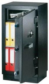 Vnútorná schránka pre trezory NHD, Celková výška: 185 mm, Hmotnosť: 8 kg, Farba: Sivá
