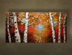 Ručne maľovaný obraz STROMY BI0095E1