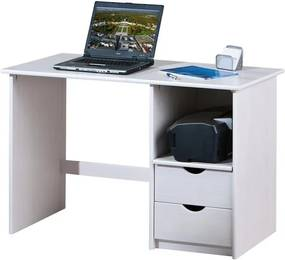 Písací stôl Sinus, bielená borovica