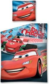 Detexpol Detské obliečky Cars 04, Rozmer 1x70x90 / 1x140x200 cm