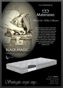 Materasso Slovakia, s.r.o. Matrac Black Magic, 200x200cm, Rolovaný, Do 48 hodín, AKCIA
