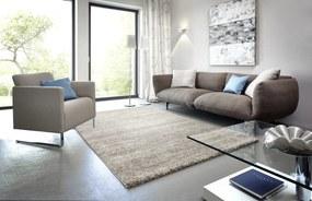 Astra - Golze koberce Kusový koberec Samoa 150005 Melange Grey - 67x130 cm