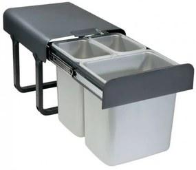 Odpadkový kôš Sinks EKKO 40 2x8l + 1x16l