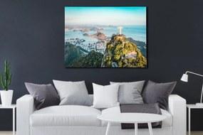 Bighome - Obraz RIO DE JANEIRO 60x80 cm - sklo