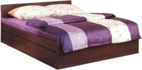 TEMPO KONDELA Pello 92 160 manželská posteľ s úložným priestorom borovica laredo