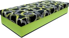 NEW DESIGN KLASIK 80x200 cm Bono Lamelový rošt-Prístup z boku