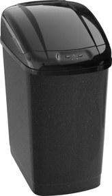 Bezdoteku Bezdotykový odpadkový kôš POWER plastový hranatý senzorový 27L