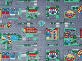 AKCE: 118x80 cm Metrážový koberec Playground 965 (dětský) - Rozměr na míru s obšitím cm