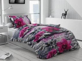 Bavlnené obliečky Orchidej 3D Rozmer obliečok: 70 x 90 cm, 140 x 200 cm
