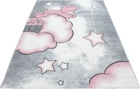 Ayyildiz koberce Kusový koberec Kids 580 pink - 160x230 cm
