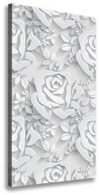 Foto obraz tlačený na plátne Ruže pl-oc-50x100-f-76755101