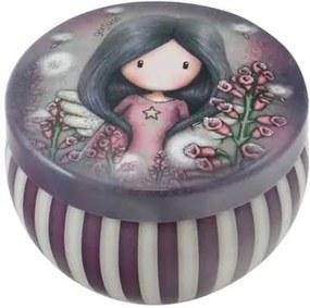 Santoro London - Okrúhla Dekoratívna škatuľka - Gorjuss - Little Wings