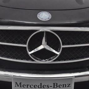 Detské elektrické auto s ovládačom čierne Mercedes Benz 300SL 6 V