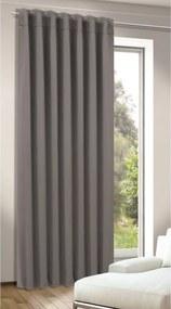 Albani Zatemňovací záves Tina tmavo sivá, 245 x 140 cm