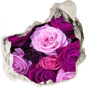 Samolepiaca nálepka fototapeta Ruže WallHole-75x75-piask-119226087
