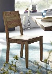 Masiv24 - NATURAL Jedálenská stolička drevená, palisander