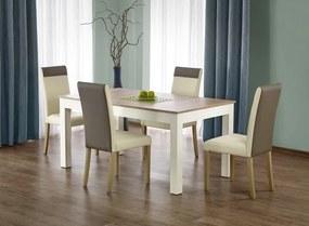 Jedálenský stôl rozkladací Seweryn dub sonoma / biely Halmar