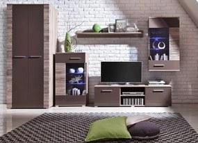 Trendy nábytok do obývacej izby BRICO Zostava 6