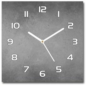 Sklenené hodiny na stenu Betónové pozadia pl_zsk_30x30_f_97738179