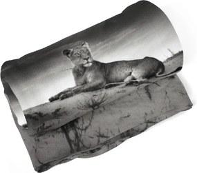 Deka Ležiaci lev  (Rozmer: 200 x 140 cm)