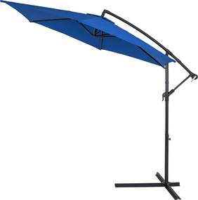 Jurhan & Co.KG Germany Slnečník, hliník, modrý - Ø 330 cm