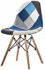 Ekspand Patchworková stolička Wave