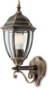 Vonkajšie retro a vintage svietidlo REDO SEVILLA bronzová 9604
