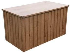 DURAMAX Záhradný úložný box 134 x 74 cm 71045 - dekor dub