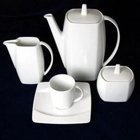 Kávová súprava 15 dielna EYE biela, THUN 1794