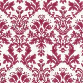 Vliesové tapety, zámocký ornament bordó, Guido Maria Kretschmer II 248550, P+S International, rozmer 10,05 m x 0,53 m