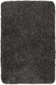 Tmavosivá kúpeľňová predložka Wenko Mélange, 120 × 70 cm