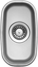 Sinks nerezový drez Undermount 195 V matný