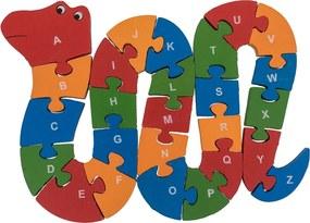 ČistéDřevo Drevené puzzle had