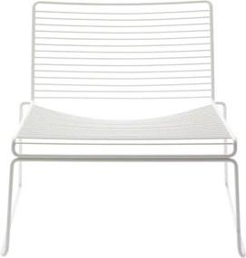 HAY Kreslo Hee Lounge Chair, white