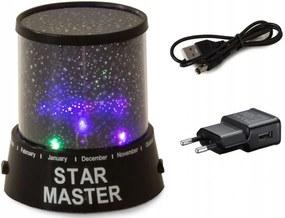 Verk Projektor nočnej oblohy Star Master + USB kábel