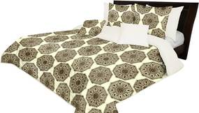 DomTextilu Obojstranný prehoz na posteľ s ornamentom Šírka: 220 cm | Dĺžka: 240 cm 13726-101984