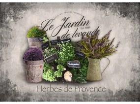 Ceduľa Levanduľa - Herbs de Provence
