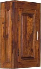 Skrinka do kúpeľne 40x60x15 indický masív palisander Only stain