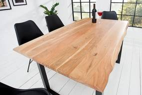 Luxusný barový/jedálenský stôl z masívu Massive 140cm