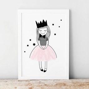 lovel.sk Plagát Pastel - princezná Amálka