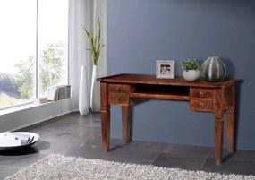 Masiv24 - CAMBRIDGE Písací stôl 130x60 cm, akácia