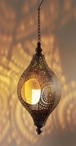 Solárna lampa Agadir s LED sviečkou