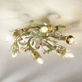 Florentínske stropné svietidlo Tulipe 6-plameňové