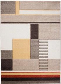 Kusový koberec Vektor béžový, Velikosti 120x170cm
