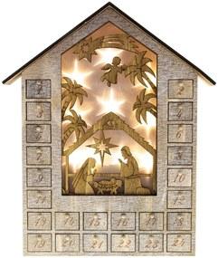 RETLUX RXL 344 adventný kalendár 3D efekt 10LED 50003939