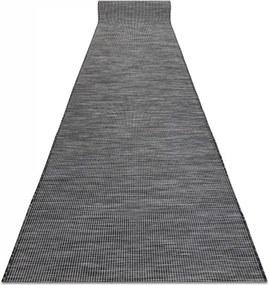 Šnúrkový behúň PATIO Sizal 2778 čierny - 68 cm
