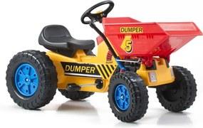 CLASSIC Traktor šliapací G21 s čelným nosičom
