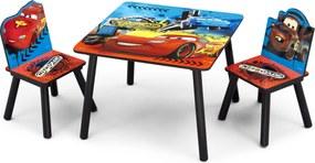 Delta Detský stôl so stoličkami Autá-Cars II Cars TT89504CR