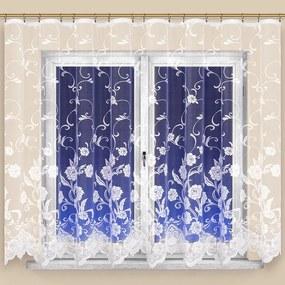 Hotová žakárová záclona DEBORA 350 x 160 cm