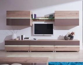 Luxusná obývacia izba ADEN 3 s LED osvetlením